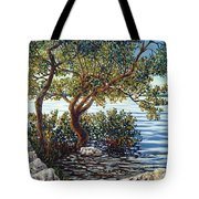 Sunset On Morada Bay Tote Bag