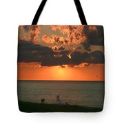 Sunset On Race Point Beach Tote Bag