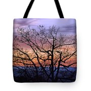 Sunset On Tanners Ridge Tote Bag