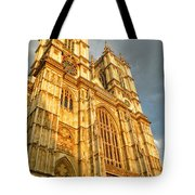 Sunset On The Abbey  Tote Bag