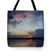 Sunset On The Amazon 3 Tote Bag