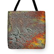 Sunset On The Beach Sand Tote Bag