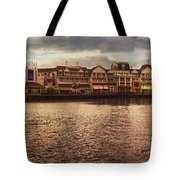 Sunset On The Boardwalk Walt Disney World Tote Bag
