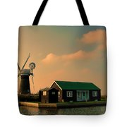 Sunset On The Broads Tote Bag
