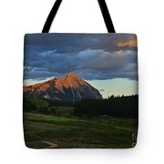 Sunset On The Butte Tote Bag