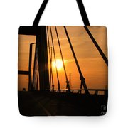 Sunset On The High Rise Tote Bag