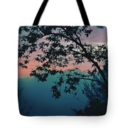 Sunset On The Hill Tote Bag