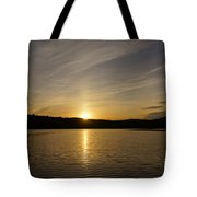 The End Of A Great Day Tote Bag
