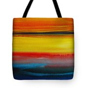 Sunset On The Puget Sound Tote Bag