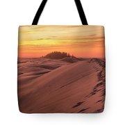 Sunset On The Ridge Tote Bag