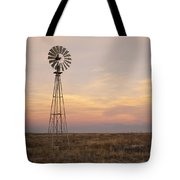 Sunset On The Texas Plains Tote Bag