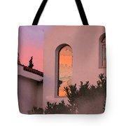 Sunset On Windows Tote Bag