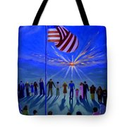 Sunset Or Sunrise Tote Bag