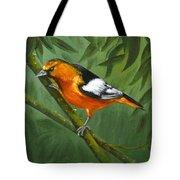 Sunset Orange Tote Bag
