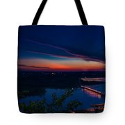 Sunset Over Alma Tote Bag