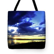 Sunset Over Aurora II Tote Bag