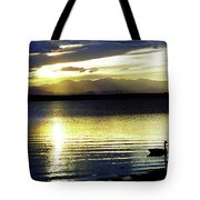 Sunset Over Aurora Tote Bag