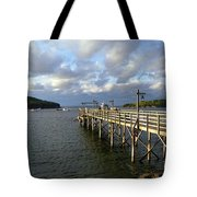 Sunset Over Bar Harbor Tote Bag