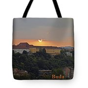 Sunset Over Budapest Tote Bag