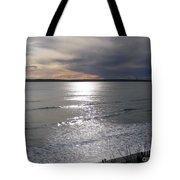 Sunset Over Calypso Beach Tote Bag
