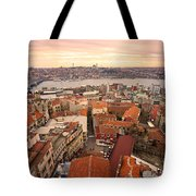 Sunset Over Istanbul Tote Bag