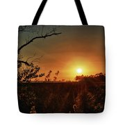 Sunset Over Little Lagoon Bayou Tote Bag