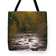 Sunset Over Little River Tote Bag