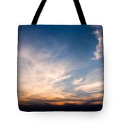 Sunset Over Maine Tote Bag