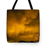 Sunset Over Manitou Springs Colorado Tote Bag