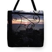 Sunset Over Puerto Vallarta Tote Bag