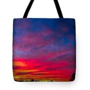 Sunset Over Swansea Tasmania Tote Bag
