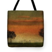 Sunset Over The Country Tote Bag