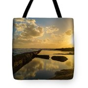 Sunset Over The Ocean II Tote Bag by Marco Oliveira