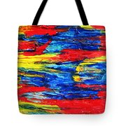 Sunset Over Troubled Waters Tote Bag