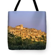 Sunset Over Vieux Nice - Old Town - France Tote Bag