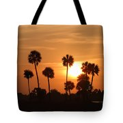 Sunset Palms 1 Tote Bag