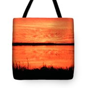 Sunset Panarama Lacassine Tote Bag