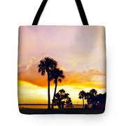 Sunset Panorama Tote Bag