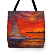 Sunset Passion Tote Bag