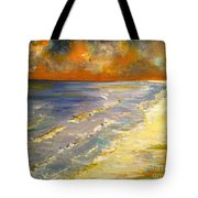 Sunset Passion At Cranes Beach Tote Bag