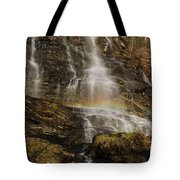 Sunset Rainbow At Amicalola Falls Tote Bag