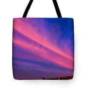Sunset Rays Tote Bag