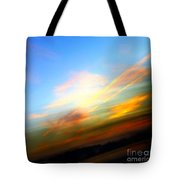 Sunset Reflections - Abstract Tote Bag
