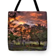 Sunset Reflections And Life Tote Bag