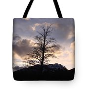 Sunset Ridge Tote Bag
