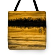 Sunset Riverlands West Alton Mo Sepia Tone Dsc03319 Tote Bag