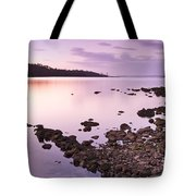 Sunset Rocks Tote Bag