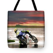 Sunset Rossi Tote Bag