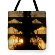 Sunset Sails Tote Bag