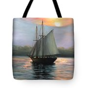 Sunset Sails Tote Bag